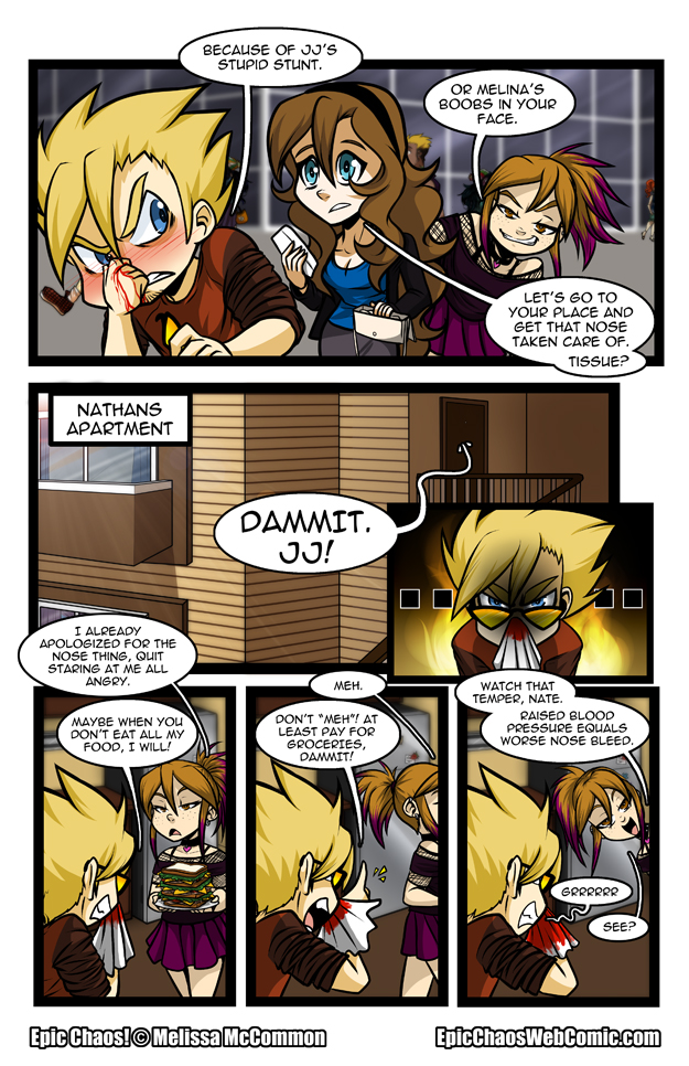 Epic Chaos! Chapter 1 Page 12
